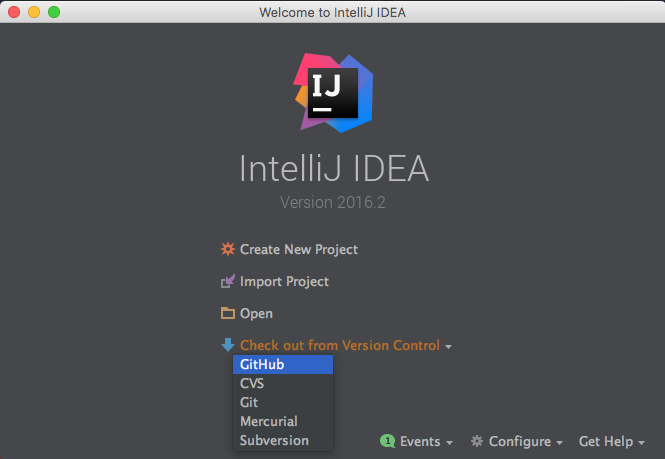 In-container Java Development: Intellij