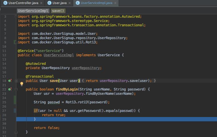 In-container Java Development: Intellij